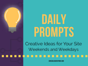 Daily Prompts content sparks