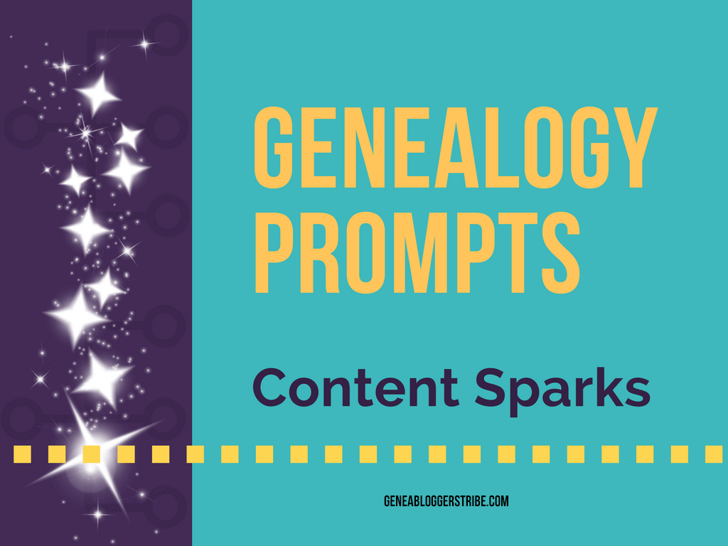 genealogy prompts give content sparks
