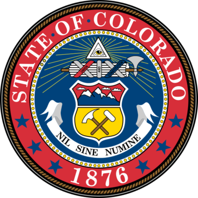 Colorado Admission Day state seal