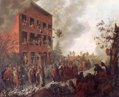 Birmingham Riots Priestley House