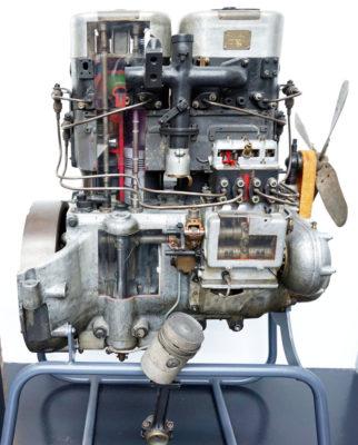 Diesel engine patented