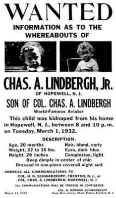 Lindbergh Kidnapping anniversary