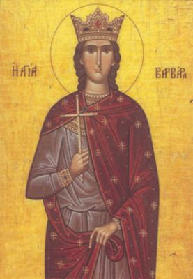 Feast of St Barbara