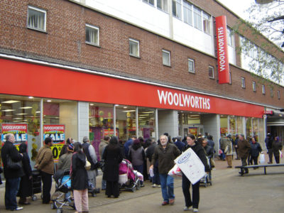 Woolworth Store Opens