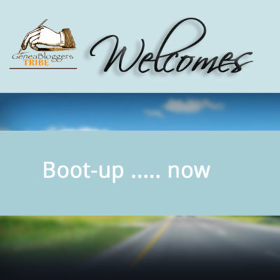 Boot Up ...Now Welcome Graphic