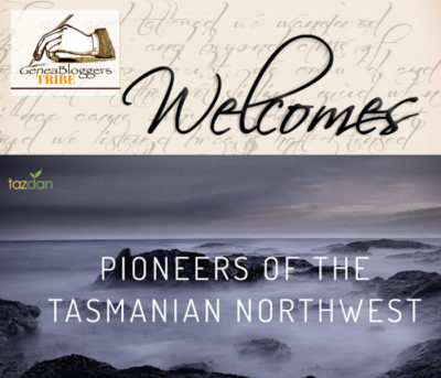 Pioneers of the Tasmanian Northwester Welcome post