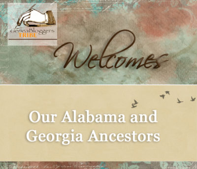 Welcome graphic for Our Alabama and Georgia Ancestors