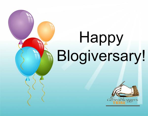 Graphic for a Blogiversary
