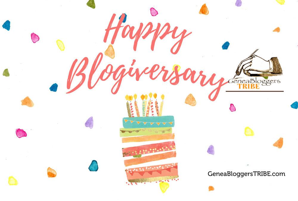 Happy Blogiversary to Celtic Family History!