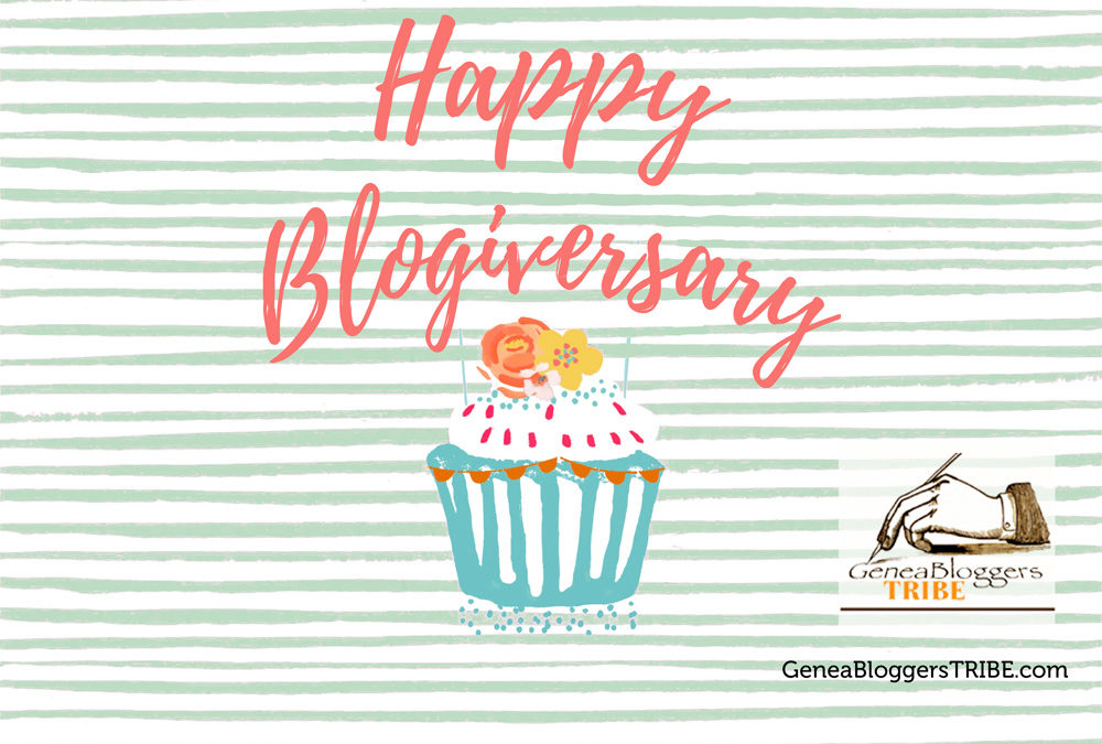 Happy Blogiversary to Empty Branches on the Family Tree!