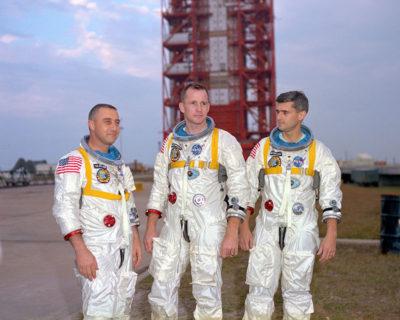 Apollo One Spacecraft fire