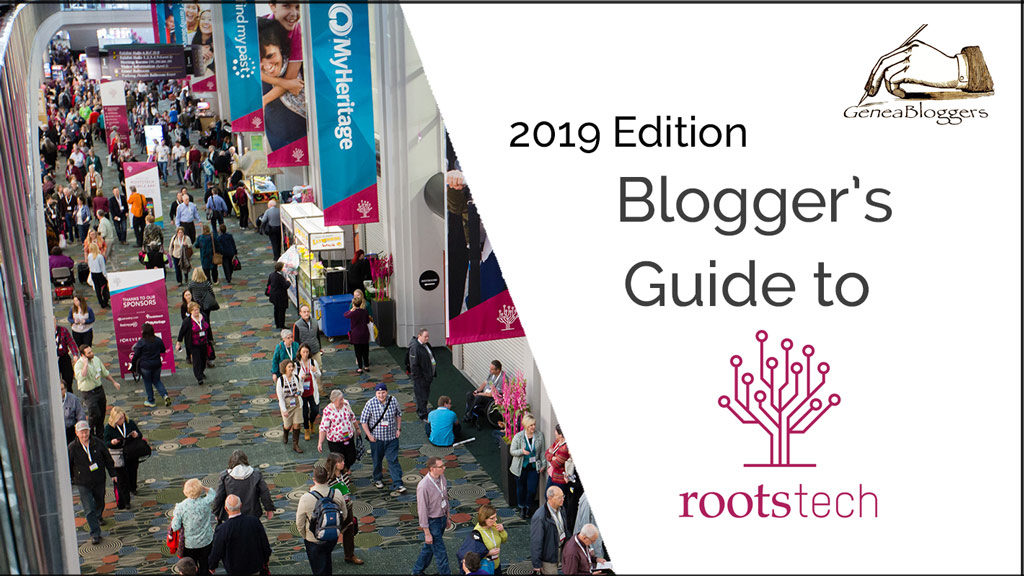 Bloggers Guide to Rootstech Graphic 2019 Edition