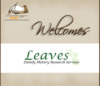 Leaves Family History Research Services Welcome Graphic