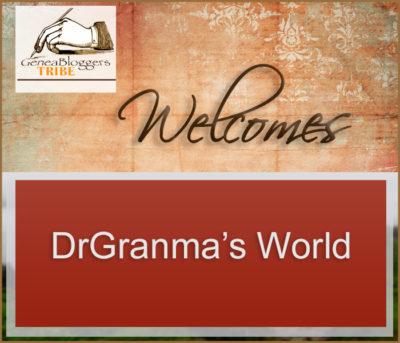 DrGranma's World Welcome graphic