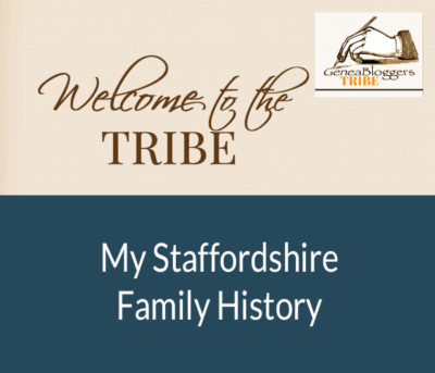 My Staffordshire Family History Welcome graphic