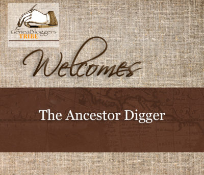 THe Ancestor Digger Welcome Graphic