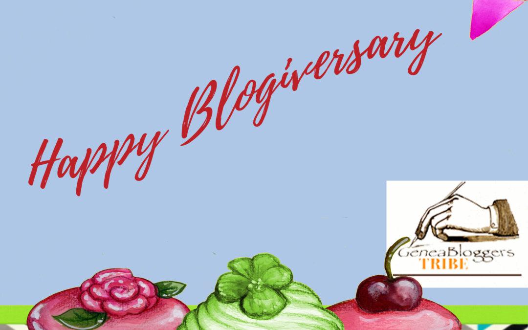 Happy Blogiversary to Gopher Genealogy!