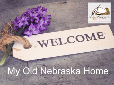 Welcome Graphic for My Old Nebraska Home