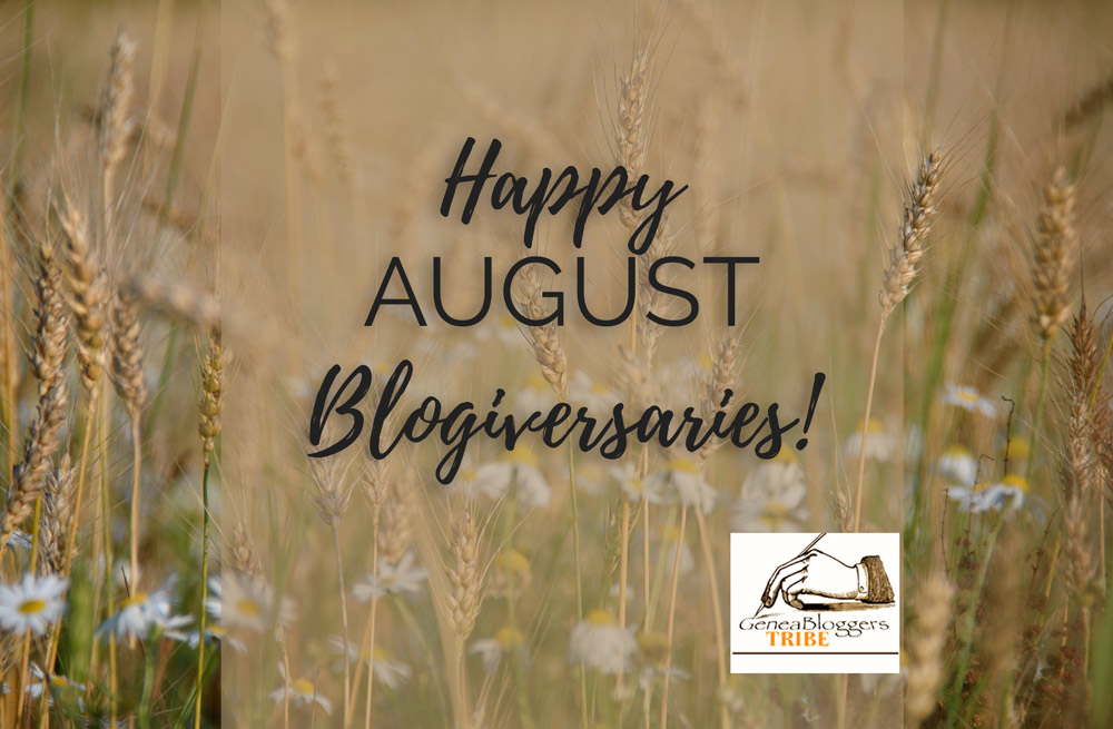 Happy August Blogiversaries