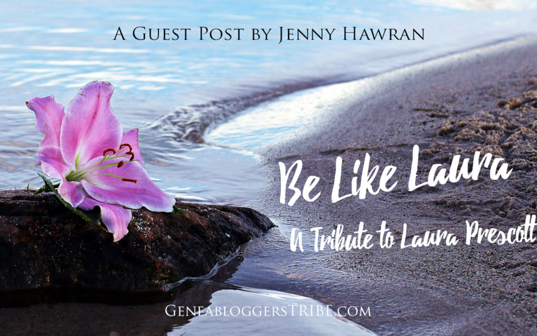 Be Like Laura – A Guest Post By Jenny Hawran