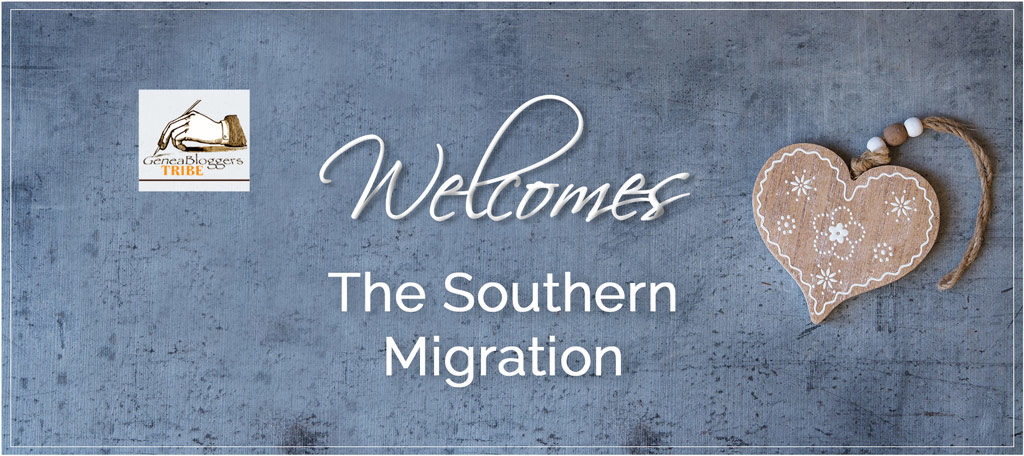 The Southern Migration Welcome Post