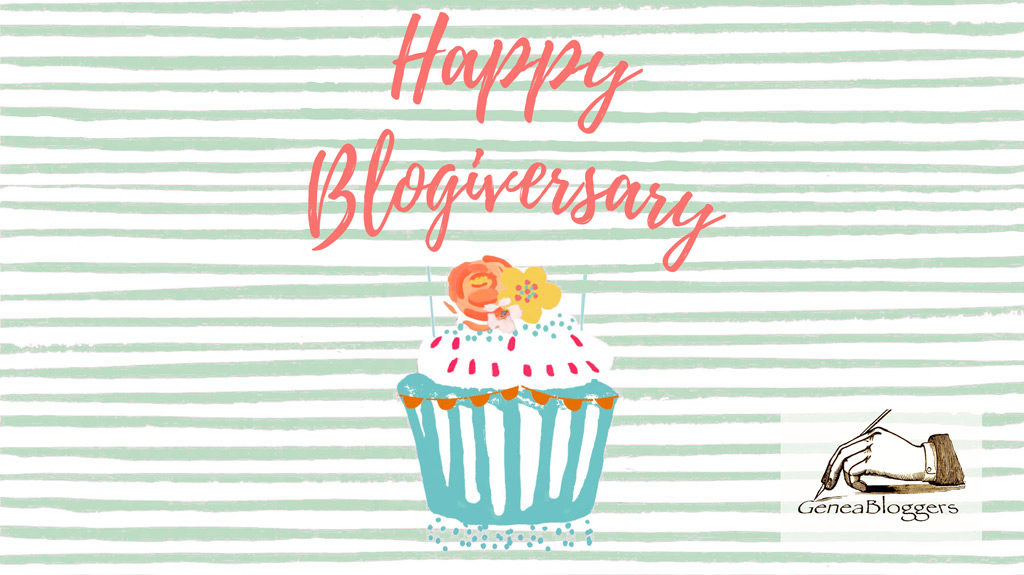 Happy Blogiversary graphic
