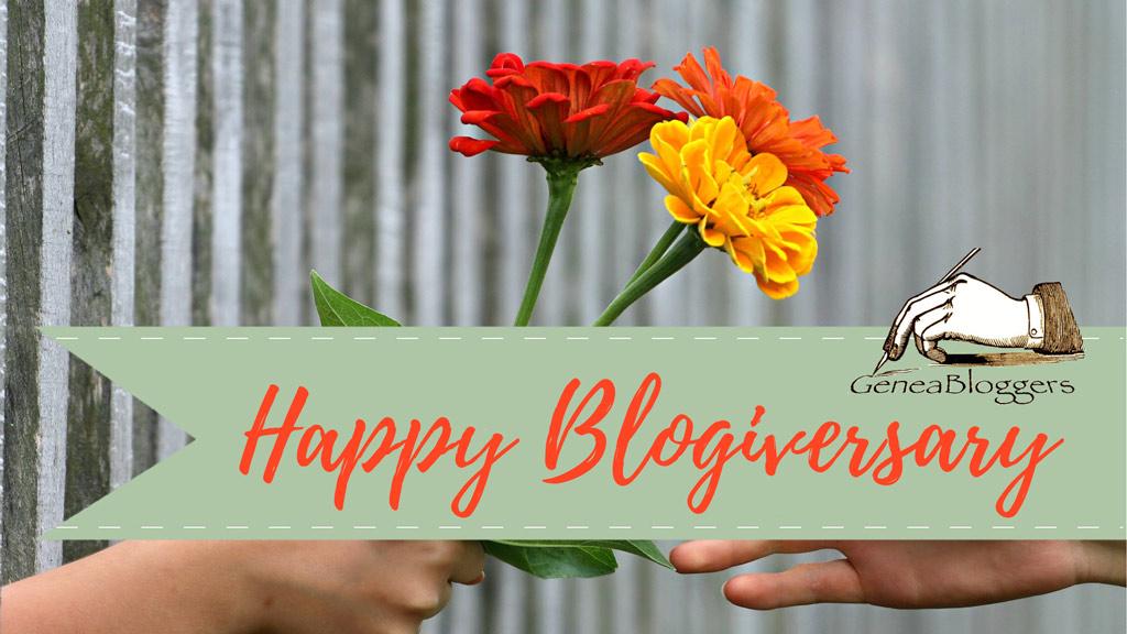 Happy Belated Blogiversary to CanadaGenealogy