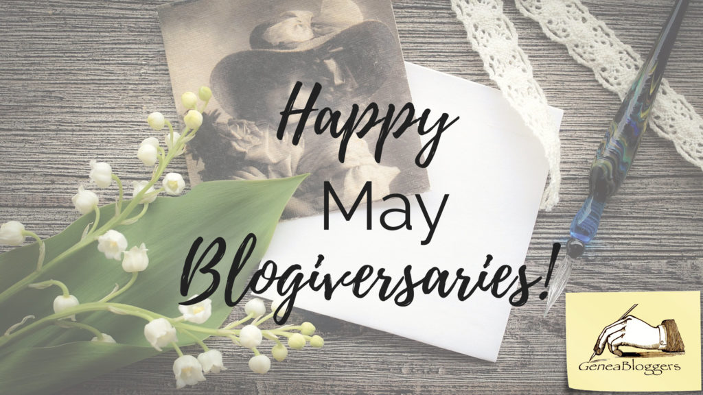 Happy May Blogiversaries Graphic