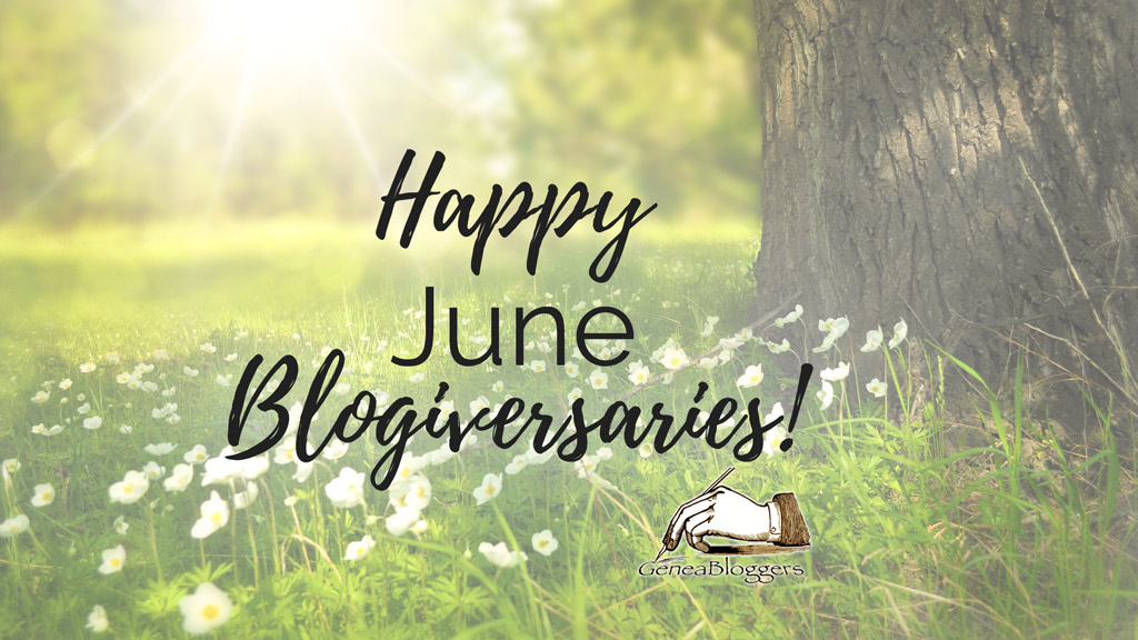 Happy June 2019 Blogiversaries