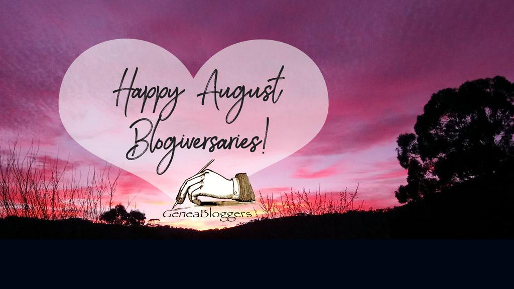 Happy August Blogiversaries