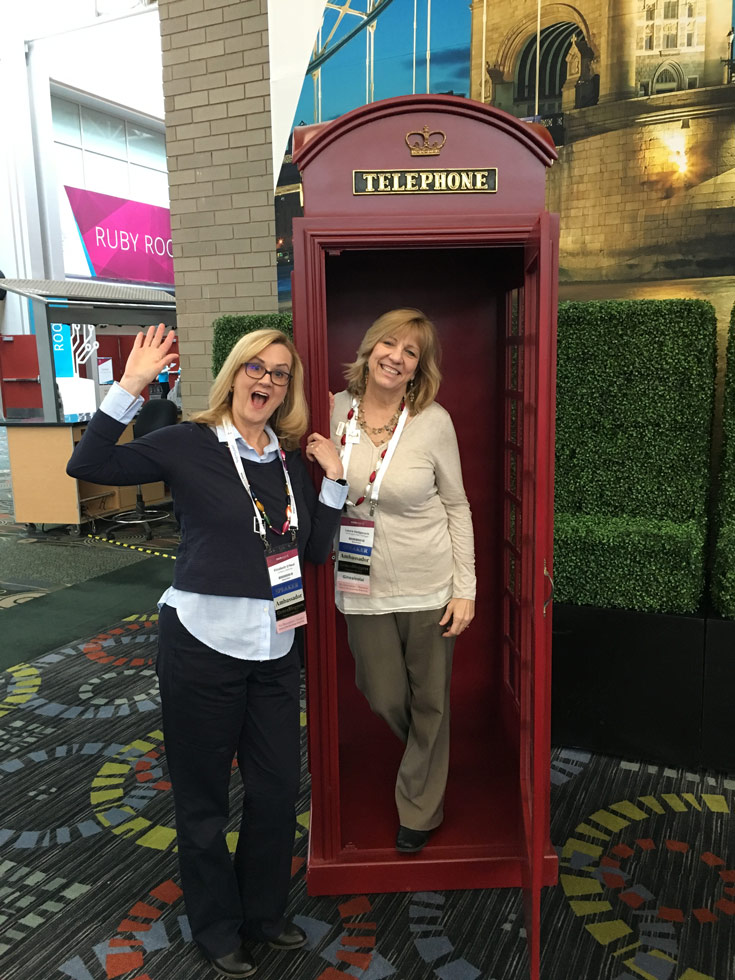 GeneaBloggers President and VIcePresident at Rootstech