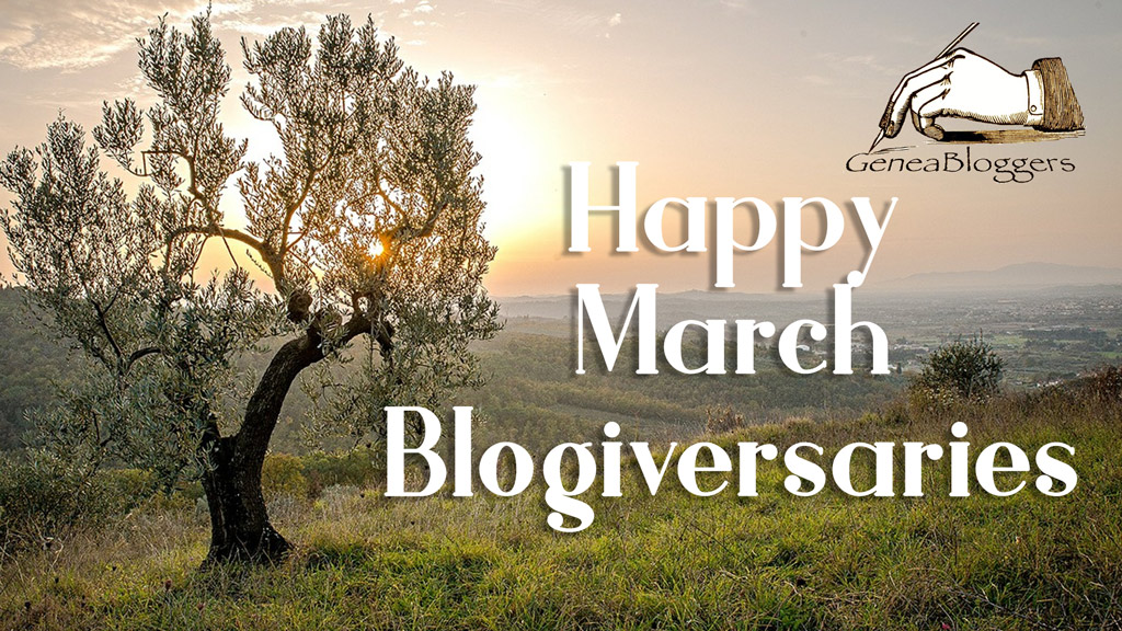 Happy March 2020 Blogiversaries