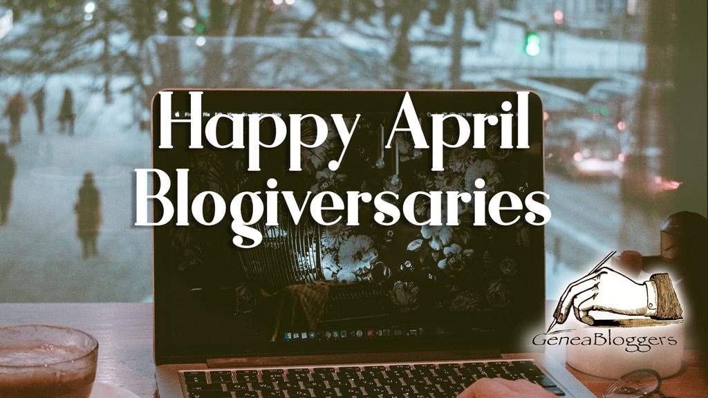Happy April 2020 Blogiversaries