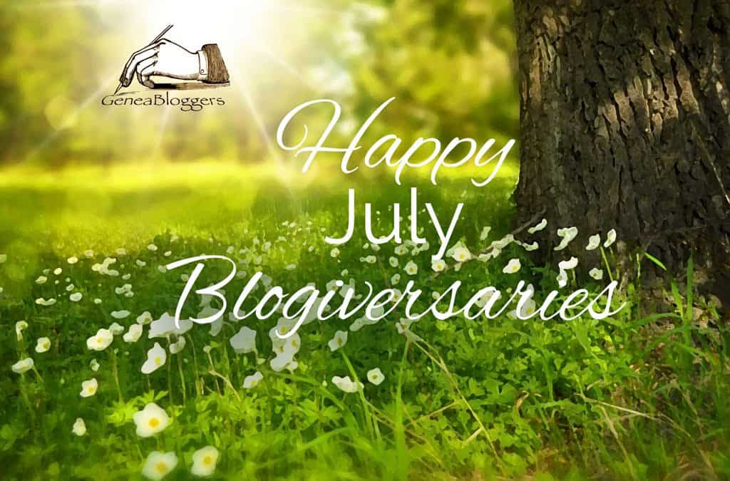 Happy July 2020 Blogiversaries