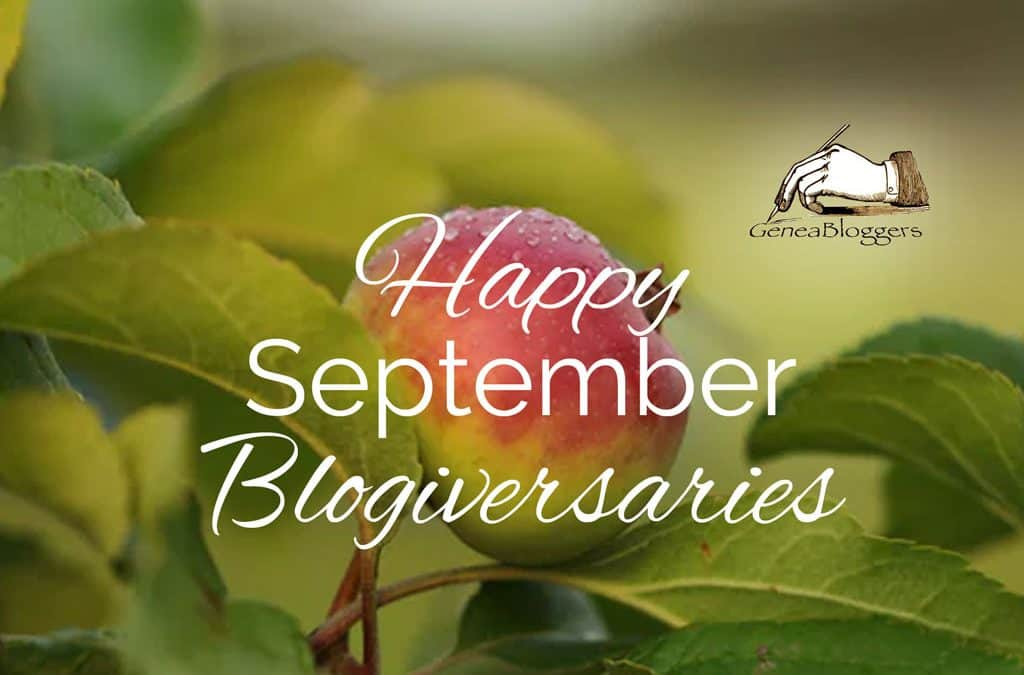 Happy September 2020 Blogiversaries