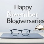 Happy November 2020 Blogiversaries