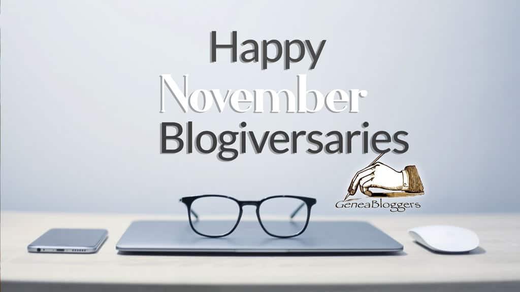 Happy November 2020 Blogiversaries