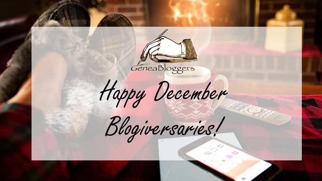 Happy Blogiversary Graphic with feet up in fire for December 2020 Blogiversaries