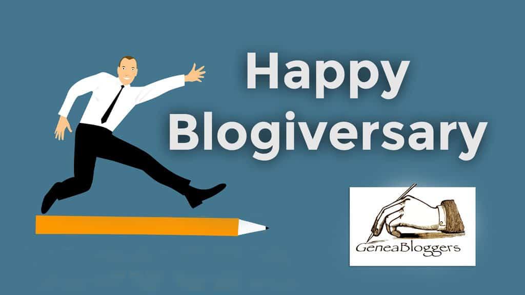 Happy Blogiversary to Geneaspy