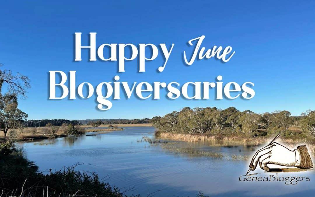 Happy June 2021 Blogiversaries