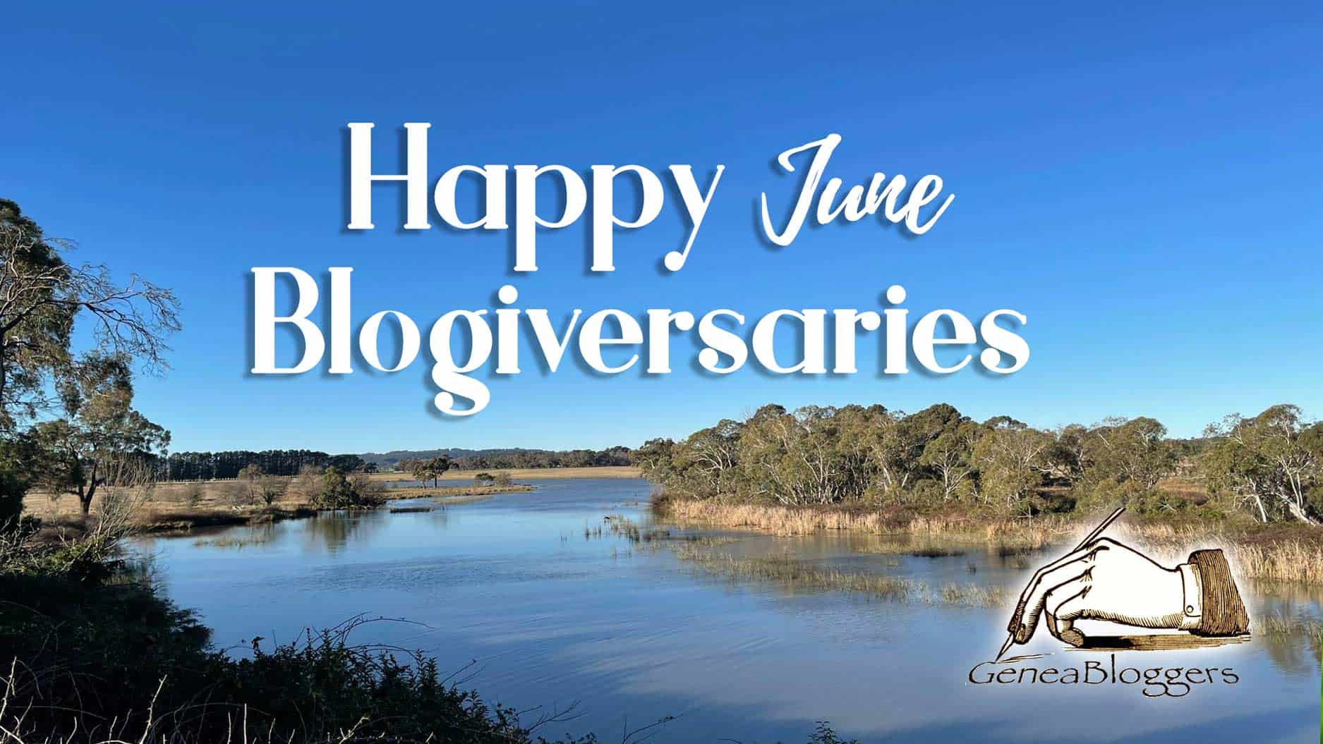 Happy Blogiversary June 2021 from Geneabloggers