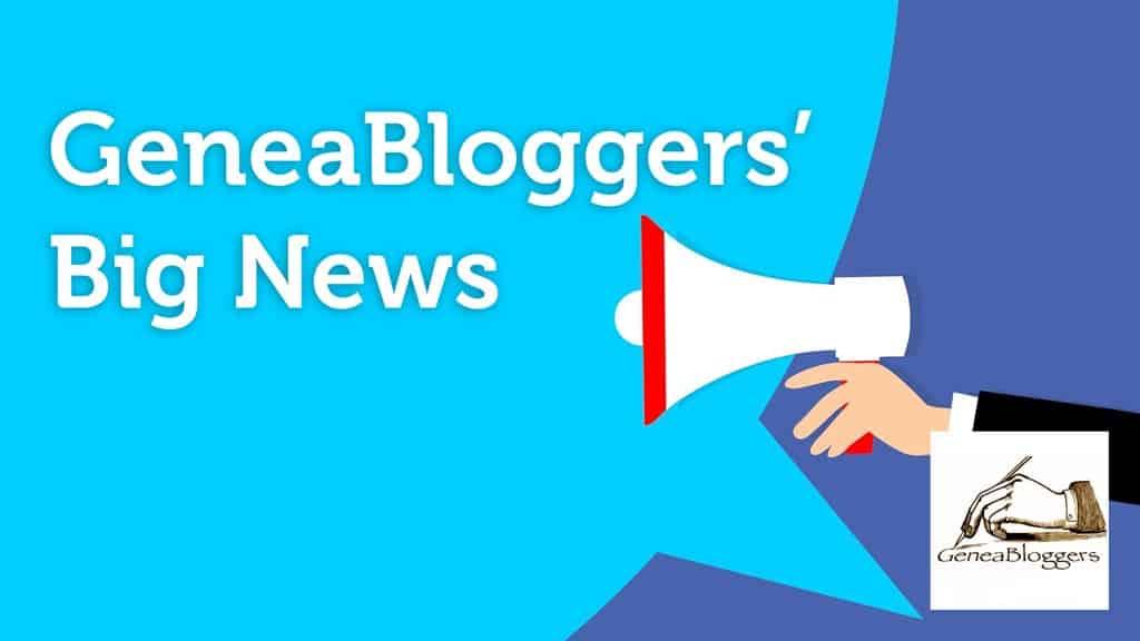 GeneaBloggers Organization granted 501(c)(3) Nonprofit Status