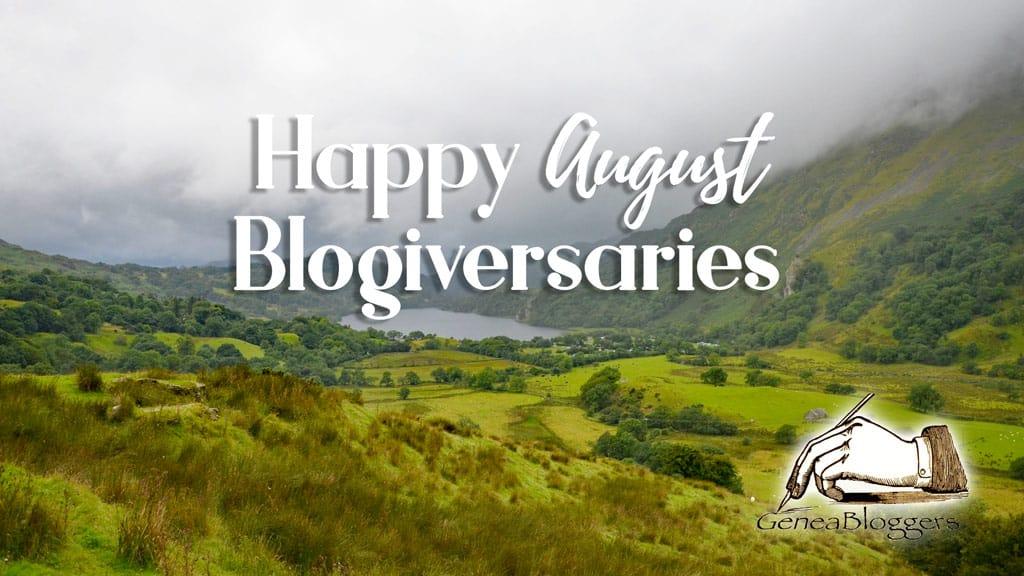 Happy Blogiversaries August 2021